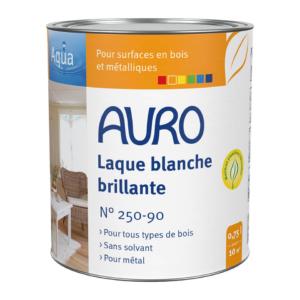 Laque couvrante brillante blanche Auro